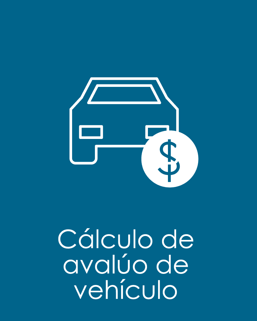 CALCULO AVALUO VEHICULOS